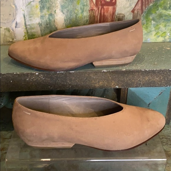 Eileen fisher vero Cuoio leather flat shoe